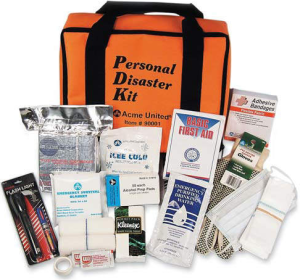 A disaster kit addresses the basic needs of food, water, and shelter for you and your family. Should you buy a ready-made kit or create one from scratch?