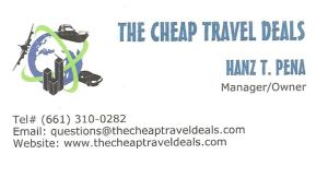 Leave the planning of your next vacation to the Cheap Travel Deals.  They will help you book travel for less with specials on cheap airline tickets, hotels, cruises, car rentals, and flights.