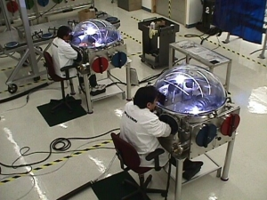 """Rick Montoya, President and Chief Operating Officer (COO) of Spacetron Metal Bellows, created the """"Aerospace Welding Apprentice Program"""", designed to take apprentices through a rigorous, one-year program, working on actual aerospace hardware."""