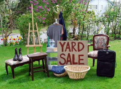 Follow these steps if you want to organize a successful yard sale.