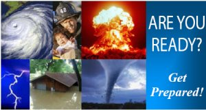 Natural disasters can happen at any times.  Here are some ways you and your family can prepare for the next disaster.