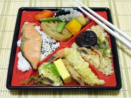 Japanese cuisine has come a long way, spanning several periods in Japanese history.  Changes in the lifestyle of the Japanese people, political change, and even Western influence have played a role in shaping Japanese cuisine.