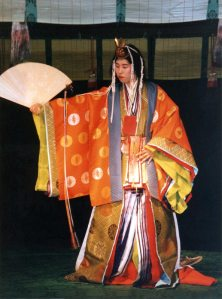 Japanese theater has evolved over hundreds of years, from the formal, symbolic, and solemn 14th century Noh theater to the extravagant 16th century Kabuki theater.