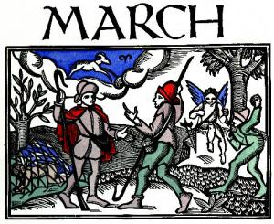 Yearly calendars just do not have the space to list lesser-known monthly observances and holidays.  What does the month of March celebrate besides St. Patrick's Day?