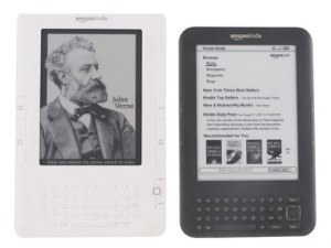 The bulkiness of carrying a number of books or magazines has been eliminated, thanks to the Amazon Kindle, a portable e-book reader that allows you to take your library of books and periodicals anywhere you go.