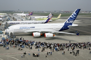 The Airbus A380 is the largest passenger airliner in the world. Where would you like to travel?