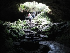 Lava tubes, found where lava once flowed, allows you to peer into a unique side of Earth's geology.