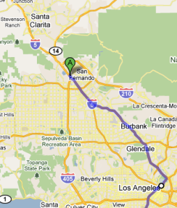 Alternate route to the South Bay (Torrance, Hawthorne, Manhattan Beach, Redondo Beach, etc.) that avoids the Westside of Los Angeles: Interstate 5 South to Interstate 110 South.