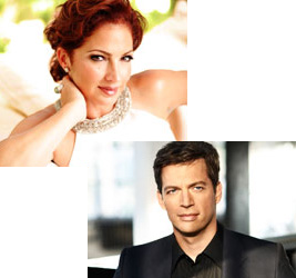 The 90th season of the Hollywood Bowl included the induction of Gloria Estefan and Harry Connick Jr. into their hall of fame as well as performances by the new inductees.