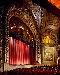 The Palace Theatre in Downtown Los Angeles is celebrating its 100th anniversary with a $1 million restoration aimed at bringing back the French and Renaissance style and charm that defined the theater.