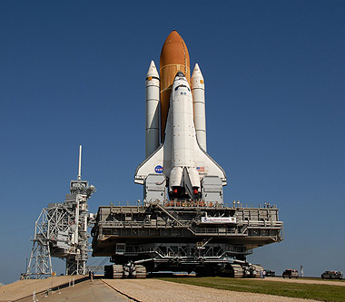 space shuttle with booster rockets - photo #29