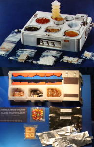 Food trays from the space station, Skylab, and the Space Shuttle | Astronaut Chow: Space Food over the Years